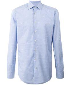 Etro | Long Sleeve Gingham Shirt Size 40