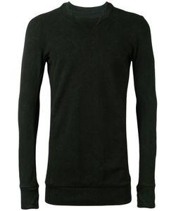 11 By Boris Bidjan Saberi | Collar Detail Sweatshirt Size Medium
