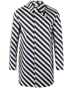 Mackintosh | Striped Coat Size 40