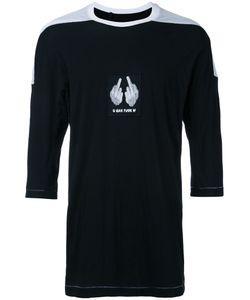 11 By Boris Bidjan Saberi   Printed T-Shirt