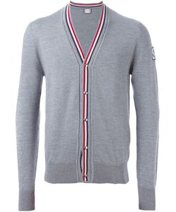 Moncler Gamme Bleu | V-Neck Piped Cardigan Size Large Virgin