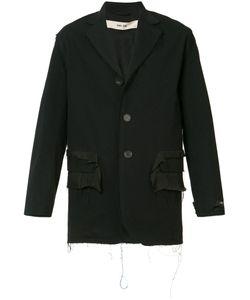 Silent Damir Doma   Frayed Detailing Jacket