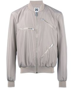 Les Hommes Urban | Multi-Zippers Bomber Jacket 52