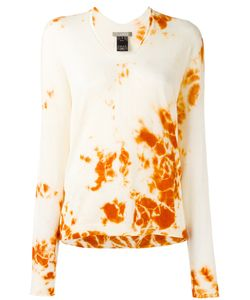 Suzusan | Bleached Effect Jumper Small Silk