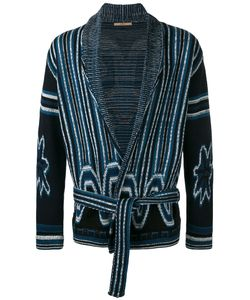Nuur | Shawl Neck Patterned Cardigan