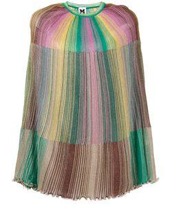 M Missoni | Rainbow Stripe Poncho
