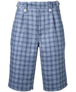 Junya Watanabe Comme Des Garçons | Man Plaid Tailored Shorts