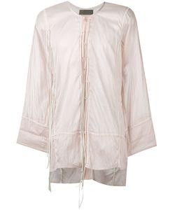Di Liborio | Camicia Lacci Pelle Shirt 46 Cotton