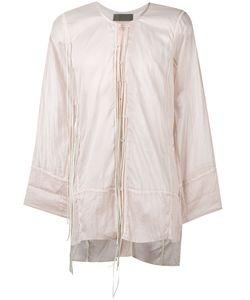 Di Liborio | Camicia Lacci Pelle Shirt Size 46