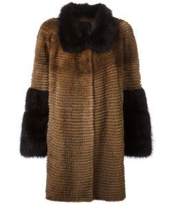 Liska   Two-Tone Coat
