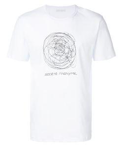 Société Anonyme | Scribble Logo T-Shirt Men