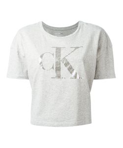 Calvin Klein Jeans | Cropped T-Shirt With Print Size Large