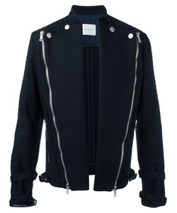 Pierre Balmain | Diagonal Zips Open Jacket 52