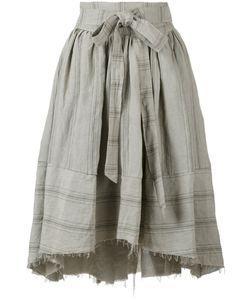 Aleksandr Manamïs | Apron Wrap Travertine Skirt