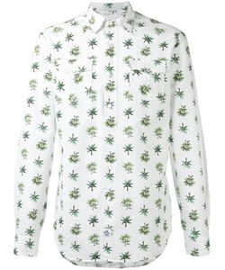 Hydrogen | Tree Print Shirt Large Cotton
