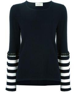 Antonia Zander | Striped Detail Jumper Small Cashmere