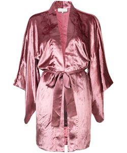Fleur Du Mal | Velvet Haori Kimono