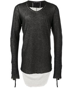 Cedric Jacquemyn | Dipped Hem Sweatshirt 46 Cotton