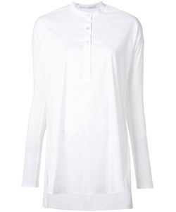 Rosetta Getty | Tunic Shirt Large Cotton/Nylon/Spandex/Elastane