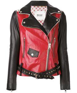 Bazar Deluxe | Contrast Biker Jacket