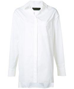 Alexandre Vauthier | Oversized Button Shirt Size 42