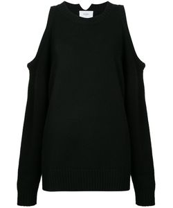 Bassike | Cropped Cut-Out Sweater 10