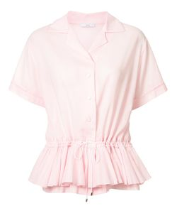 Tome | Pleated Trim Shirt Xs