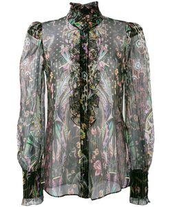 Roberto Cavalli | Mutton Sleeve Blouse Size 50