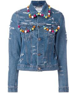 Forte Couture   Pompom Denim Jacket