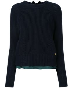 Muveil | Hem Crew Neck Sweater