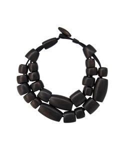 Monies | Tube Bead Dual Necklace