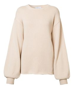 Ryan Roche | Gathe Longsleeve Jumper Medium Cashmere