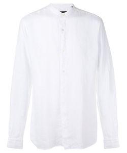 Z Zegna | Korean Collar Long Sleeve Shirt