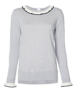 Adam Lippes   Ruffle Neck And Cuff Sweater