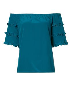 Vanessa Seward | Off The Shoulder Frill Sleeve Top Size 36