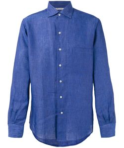 Loro Piana   Andre Ml Sahara Melange Shirt Size Xxl