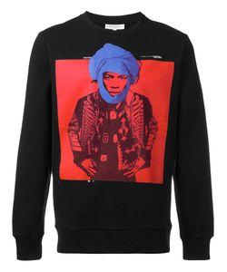 Les Benjamins   Man Print Sweatshirt Size Small