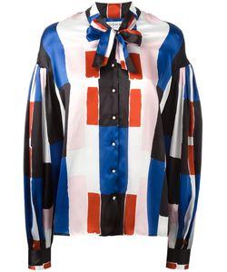 Osman | Pussy-Bow Collar Shirt 10 Silk