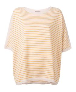 N.Peal | Oversized Stripe T-Shirt M