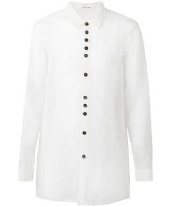 Damir Doma | Raw Edge Shirt Medium Silk/Nylon