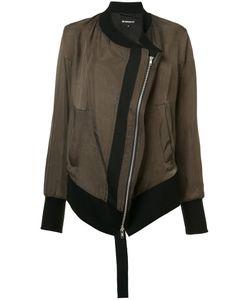 Ann Demeulemeester Blanche   Diagonal Zip Bomber Jacket 38
