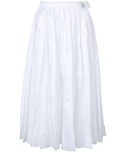 Jonathan Cohen | Frayed Pleat Skirt