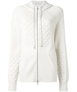 Barrie | Knitted Hoodie Small Cashmere