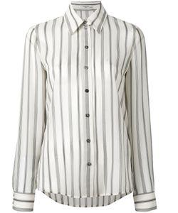 Lanvin   Striped Blouse 42