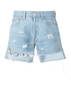 Forte Couture | Distressed Denim Shorts Size