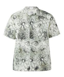 Jil Sander | Flower Print Shortsleeved Shirt