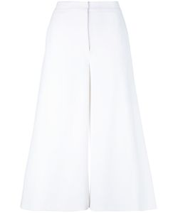 Sara Battaglia | Cropped Flared Trousers Women