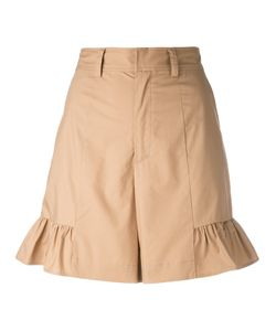 Muveil | Flared Hem Shorts 40
