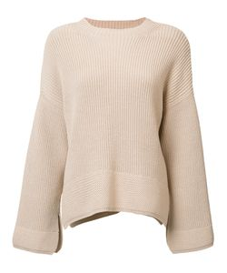 Elizabeth And James | Ribbed Detail Jumper Small Cotton/Nylon