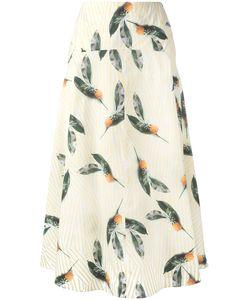 Cacharel | Pineapple Print Skirt 34 Cotton